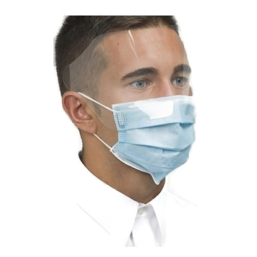 Surgical Face Mask with Eye Shield